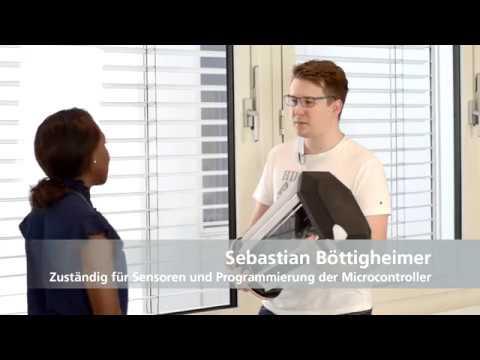 Digitaler Pong-Tisch: Der Werkstudent erzählt von seinem Beitrag