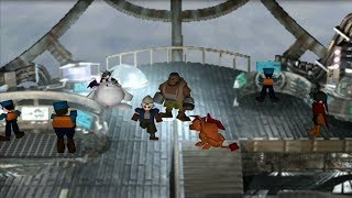 "Final Fantasy VII (PS4) Cid Is Elected ""Temporary"" Party Leader HD 720p 60fps"