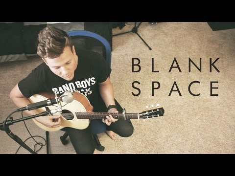 Taylor Swift - Blank Space - Music Video (Tyler Ward Acoustic Cover) - Official Simple Session