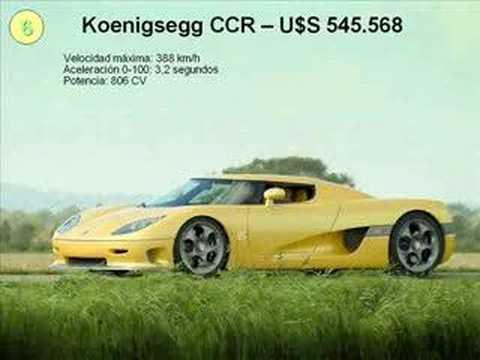 Los diez coches mas caros del mundo
