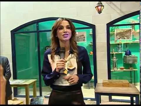 Queen Rania meets group of global journalists and media visiting Jordan