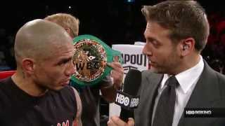 Miguel Cotto Post-Fight Interview