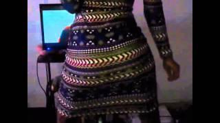 Kenya girl dancing to King Kaka