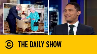 The Queen Officiates Boris Johnson As 14th Prime Minister | The Daily Show with Trevor Noah