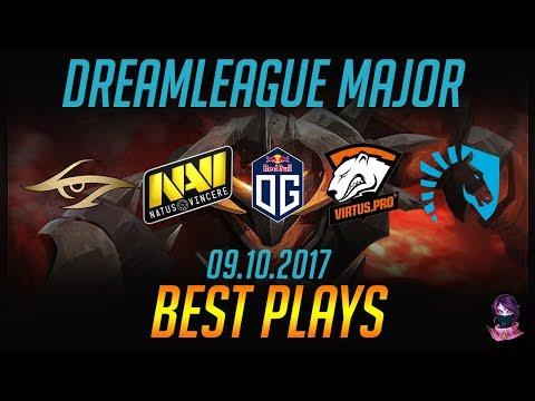 DreamLeague S8 Major - BEST PLAYS - 09.10.2017 Highlights Dota 2 by Time 2 Dota #dota2