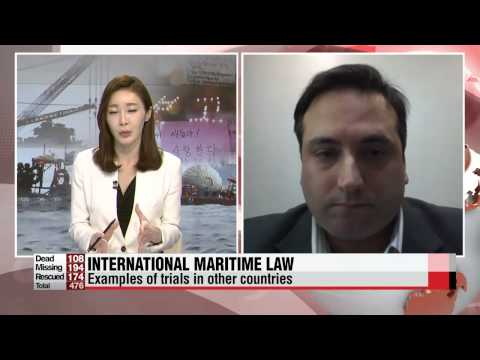 Sewol-ho ferry capsize: International legal expert's view via Skype