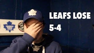 Leafs lose 5-4 to the Jets (Leaf Game Review)