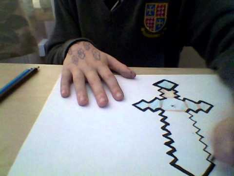 Making A Minecraft Sword