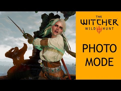 The Witcher 3 Photo Mode Mod