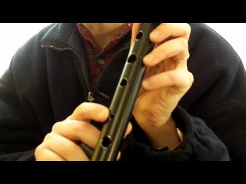 Howard Low D Whistle review and how to make your own home made DIY penny whistle