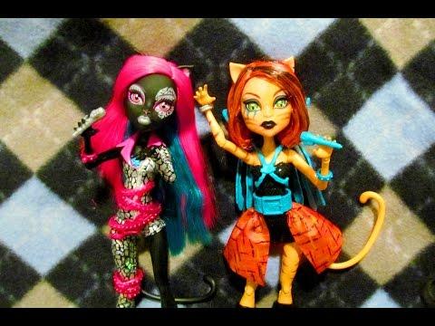 Кэтти Нуар и Торалей Страйп Рокерши Catty Noir and Toralei Stripe Fierce Rockers