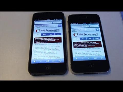 iPhone 5 Análisis Rendimiento