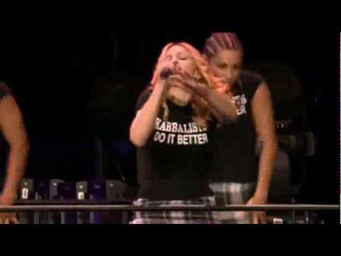 Madonna - Papa Don't Preach (re-invention World Tour) video