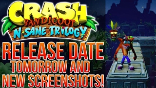 CRASH BANDICOOT PS4 TRILOGY RELEASE DATE TOMORROW AND NEW SCREENS!
