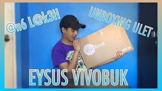 UNBOXING MY ASUS LAPTOP