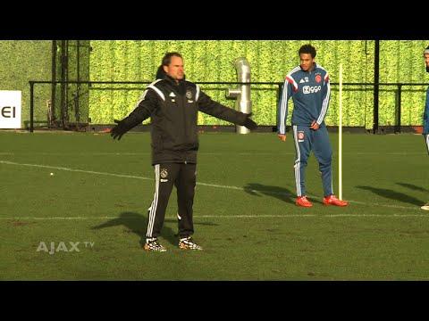 Frank de Boer zet ploeg op scherp