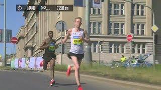 Prague Marathon 2018 last kilometers
