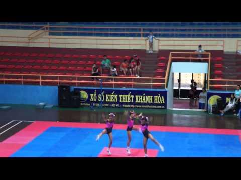 Bài thi thể dục aerobic tiểu học- H Diên Khánh-HKPĐ Khánh hòa 2012