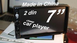 """Tanie radio samochodowe 2din 7"""" / China cheap car player 2DIN 7 inch / Billiges Autoradio 2dni 7´´"""
