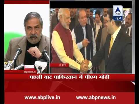 PM Modi's trip to Lahore was pre planned, says Anand Sharma
