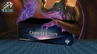MTG - Magic Core Set 2019 Booster Box Opening