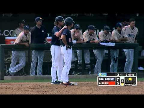 Auburn Baseball vs Oral Roberts Game 3 Highlights