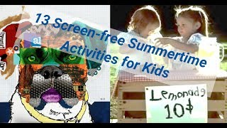 ShillerLearning: 13 Fun DIY Summer Activities for Kids & the Whole Family