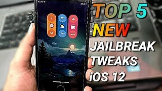 Top 5 NEW Cydia Tweaks For unc0ver/Chimera Jailbreak iOS 12-12.1.2 ||