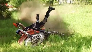 Try NOT to Laugh at These DIRTBIKE Crashes!