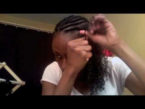 #77::Protective Style- Latch Hook Weave/Crochet Braids on Natural Hair