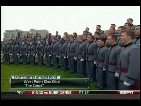 West Point Glee Club: The Corps, Veteran's Day, November 11, 2009
