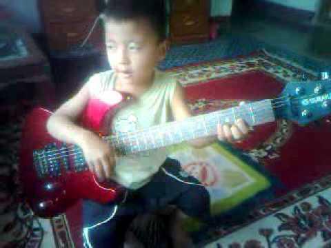 Nepali child singing rhyme