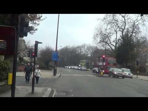 (HD) Full route visual - Route 9 | Trafalgar Square - Kensington High Street | RM1218 - 218CLT