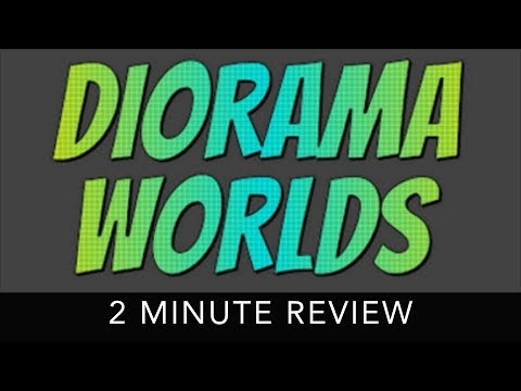 Diorama Worlds - 2 Minute Review - HTC Vive