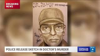 Houston police release sketch in Medical Center killing