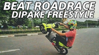 Beat Roadrace 150cc | Testride Wheelie | Motovlog Indonesia