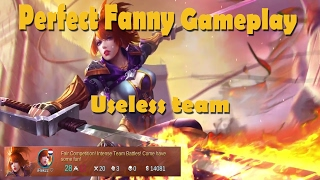 Mobile Legends: SOLO CARRY PERFECT FANNY GAMEPLAY