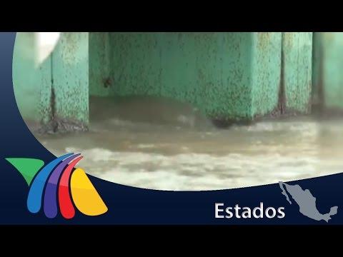 A punto de desbordarse río en Minatitlán, Veracruz | Noticias de Veracruz