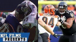 """How Orlando Brown Jr. is Walking in Orlando """"Zeus"""" Brown's Footsteps   NFL Films Presents"""