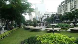Ho Chi Minh City, Vietnam. Lunch and Coffee on New Years Day 2014