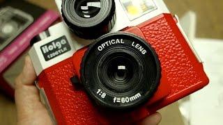 Holga 120 GTLR Twin Lens Reflex Camera Unboxing