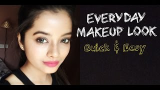Everyday Makeup Look Easy and Quick  Shweta Makeup&Beauty