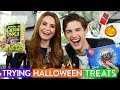 Trying Halloween Candy w/ MatPat!