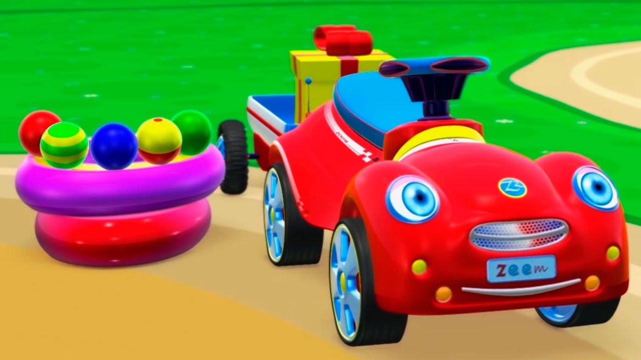 про машинки и паровозики развивающие мультфильмы