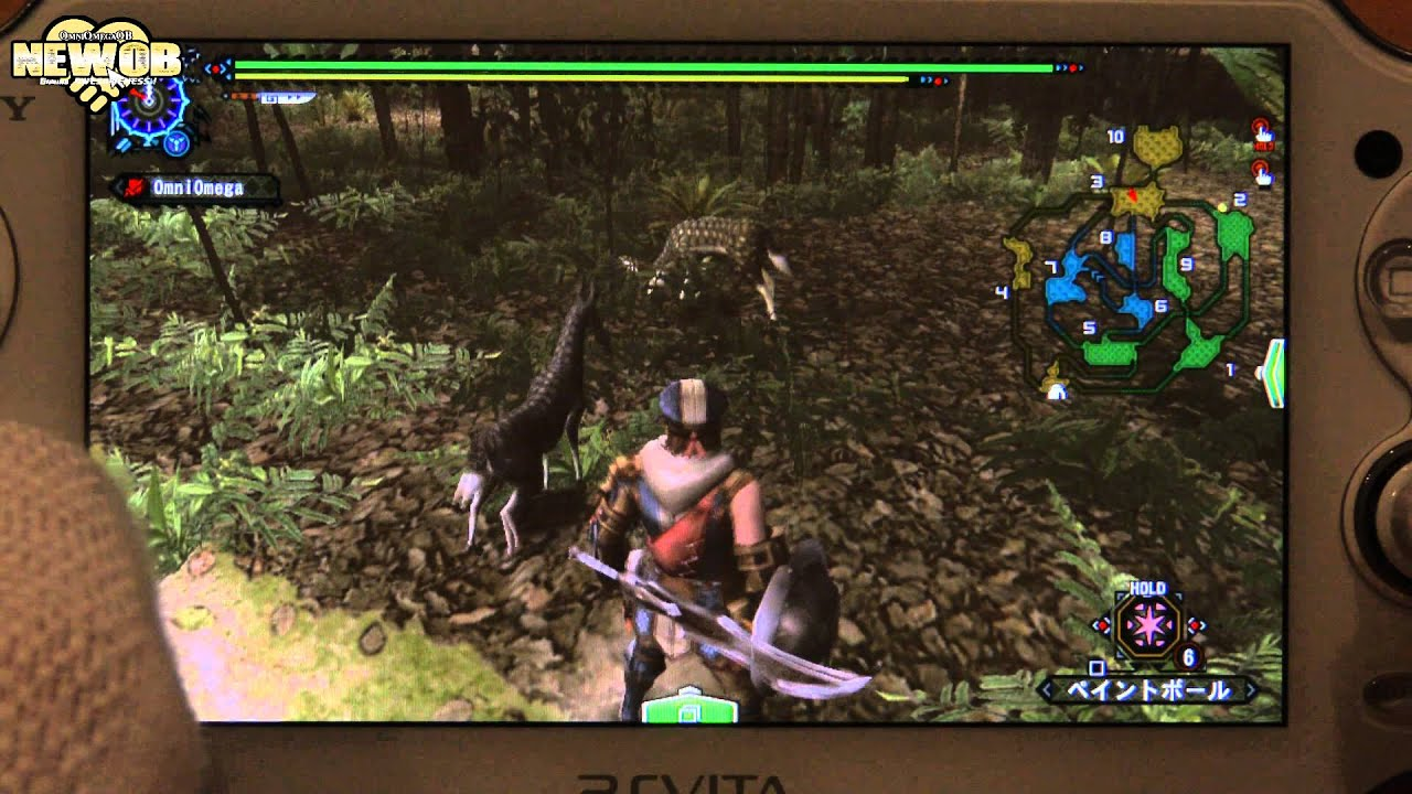 New Monster Hunter Game For ps Vita ps Vita Monster Hunter