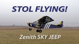 STOL Flying - techniques and tips from demo pilot