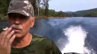 Рыбалка  в Тыве ., Бий-Хем ..,Водопад...