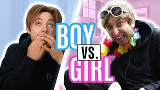 Boy vs. Girl - Sandra Edition | Die Lochis