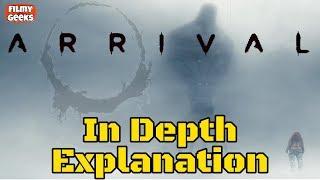 Arrival Explained In Telugu   Best Science Fiction Film   Filmy Geeks