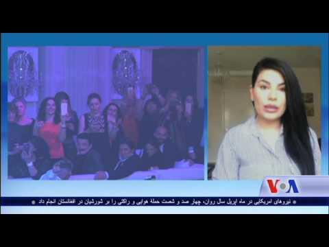 Aryana Sayed talks about burning her controversial dress - VOA Ashna